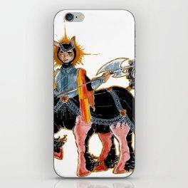 Middle age Centaur iPhone Skin