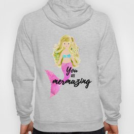 Pink Mermaid Hoody