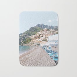 Amalfi Coast Beach Bath Mat