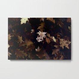 Natural Leaf Metal Print