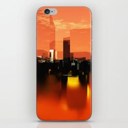 Q-City Zero iPhone Skin
