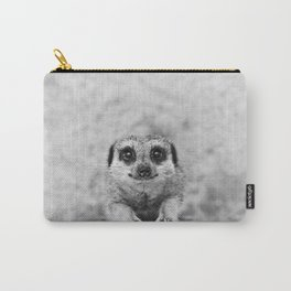 Smiling Meerkat Carry-All Pouch