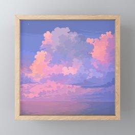Candy Sea Framed Mini Art Print
