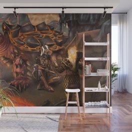 Lava Turtle Wall Mural