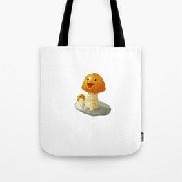 Happy Cap Tote Bag