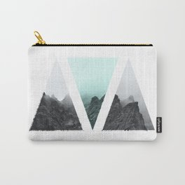 Rocks in blue Carry-All Pouch