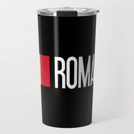 Romania: Romanian Flag & Romania Travel Mug