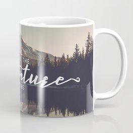 Trillium Adventure Begins - Nature Photography Coffee Mug