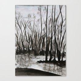 Brent skog - Gerlinde Streit Canvas Print