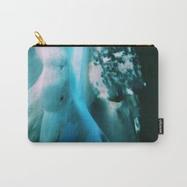 Abstract @ Sea Carry-All Pouch