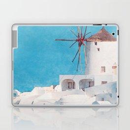 Mediterranean journey-Santorini Laptop & iPad Skin