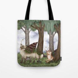 Catsnail I / Katzenschnecken I Tote Bag