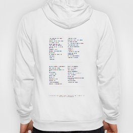 Metronomy Discography - Music in Colour Code Hoody