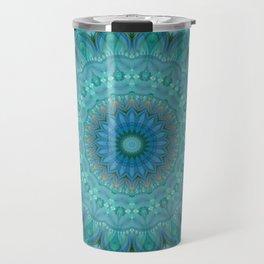 Mandala luminous Opal Travel Mug