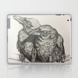 Huginn and Muninn Laptop & iPad Skin