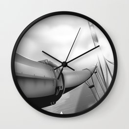 """Los Angeles """"City of Angels"""" Black and white edition Wall Clock"""