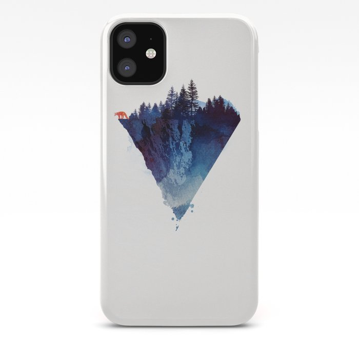 Near To The Edge Iphone Case By Astronaut Society6