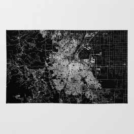Denver map Rug