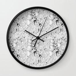omega pattern Wall Clock