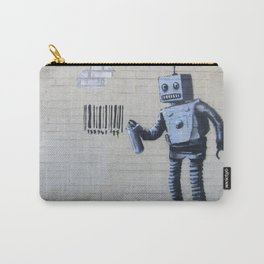 Banksy Robot (Coney Island, NYC) Carry-All Pouch
