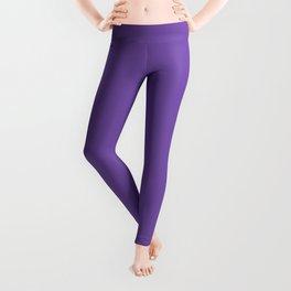 Royal purple - solid color Leggings