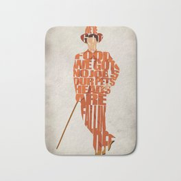 Lloyd Christmas Bath Mat
