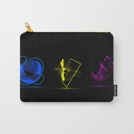 Wood Night triptych Carry-All Pouch