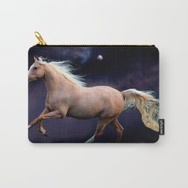 horse galloping Carry-All Pouch