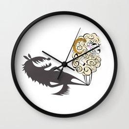 Shady Sheep Wall Clock