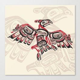 Salish Thunderbird Canvas Print