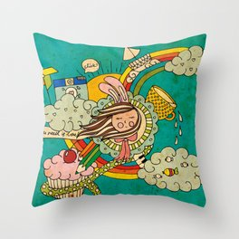 My Story Throw Pillow