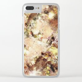 Abraded surface Clear iPhone Case