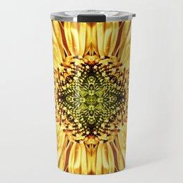 Sunflower Manipulation Travel Mug