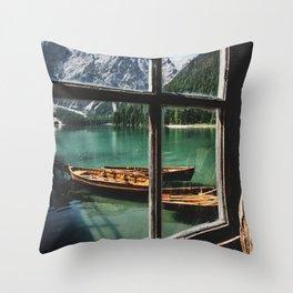 Road Trip 26 - Dolomites Throw Pillow