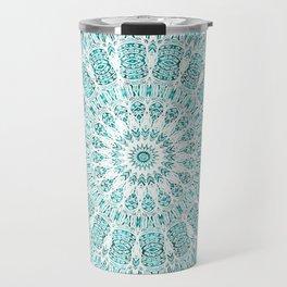 A Glittering Mandala  Travel Mug