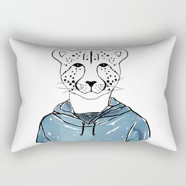 Callie the Cheeta (Color) Rectangular Pillow