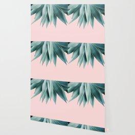 Agave fringe - blush Wallpaper
