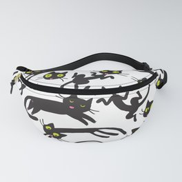 crowd of cats Fanny Pack