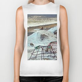 Crab Cages and The Cove Biker Tank