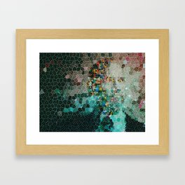 Lost Pieces Framed Art Print