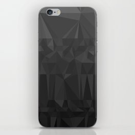 Black and Grey Ombre - Flipped iPhone Skin