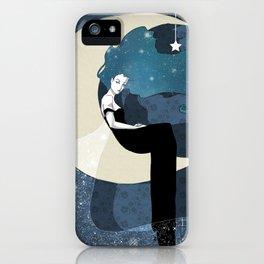 Lady Night 2 iPhone Case