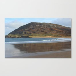 Tullagh Strand Reflections Canvas Print