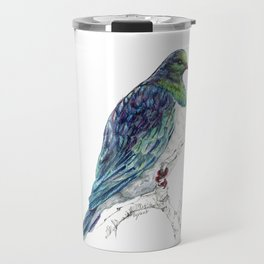 Mr Kereru, New Zealand native wood pigeon Travel Mug