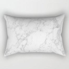 White Marble Edition 2 Rectangular Pillow