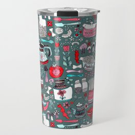 Pyrex and Pasta Travel Mug