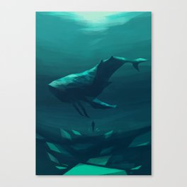 Speedpaint: The Void V Canvas Print