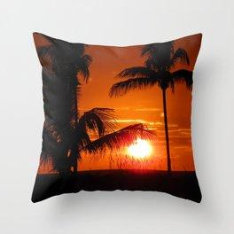 Beautiful Sunset II Throw Pillow