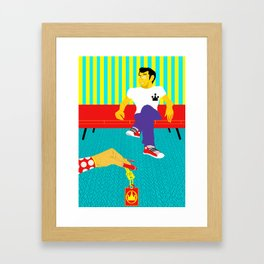 Are These Your Keys? Framed Art Print