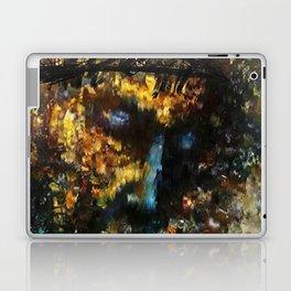 jesus christ abstract painting Laptop & iPad Skin